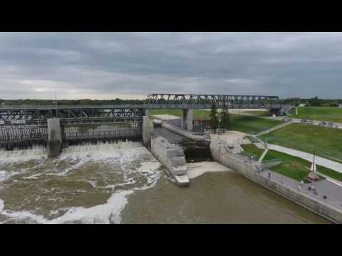 Lockport Manitoba Drone Flyover August 23 2016