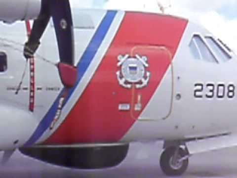 94th ACG Surveys Coast Guard Air Station Miami HC-144A Ship # 2308.MOV