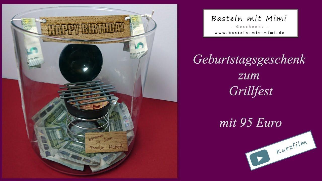 Basteln Mit Mimi Geburtstagsgeschenk Grill Kohle