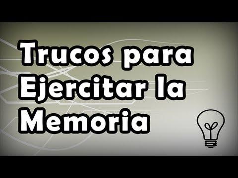 Trucos Para Ejercitar La Memoria Ejercicios Mentales Youtube
