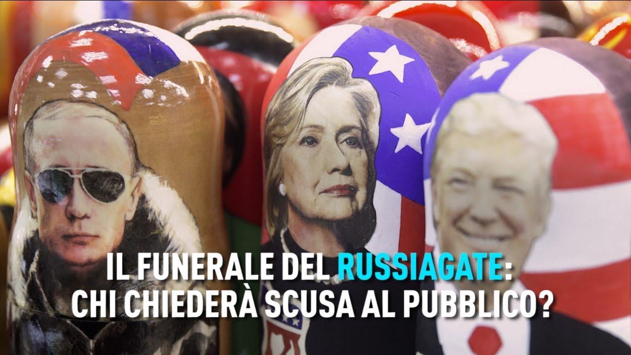 PTV News - 27.03.19 - Il funerale del Russiagate: chi chiederà scusa al pubblico?