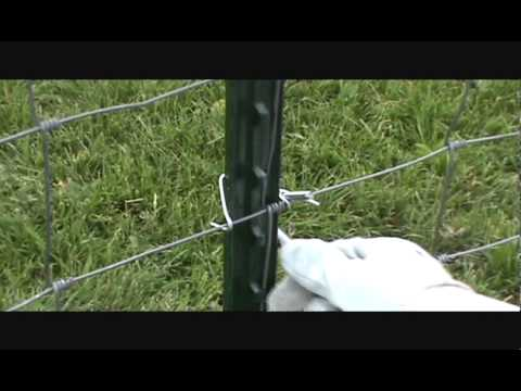 Farming Ranching Agriculture T Post Fence Clip Hand Tool