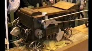 Vapeur vive battage 1900 en modèle réduit