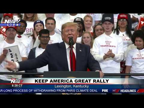 FULL RALLY: President Trump In Lexington, Kentucky