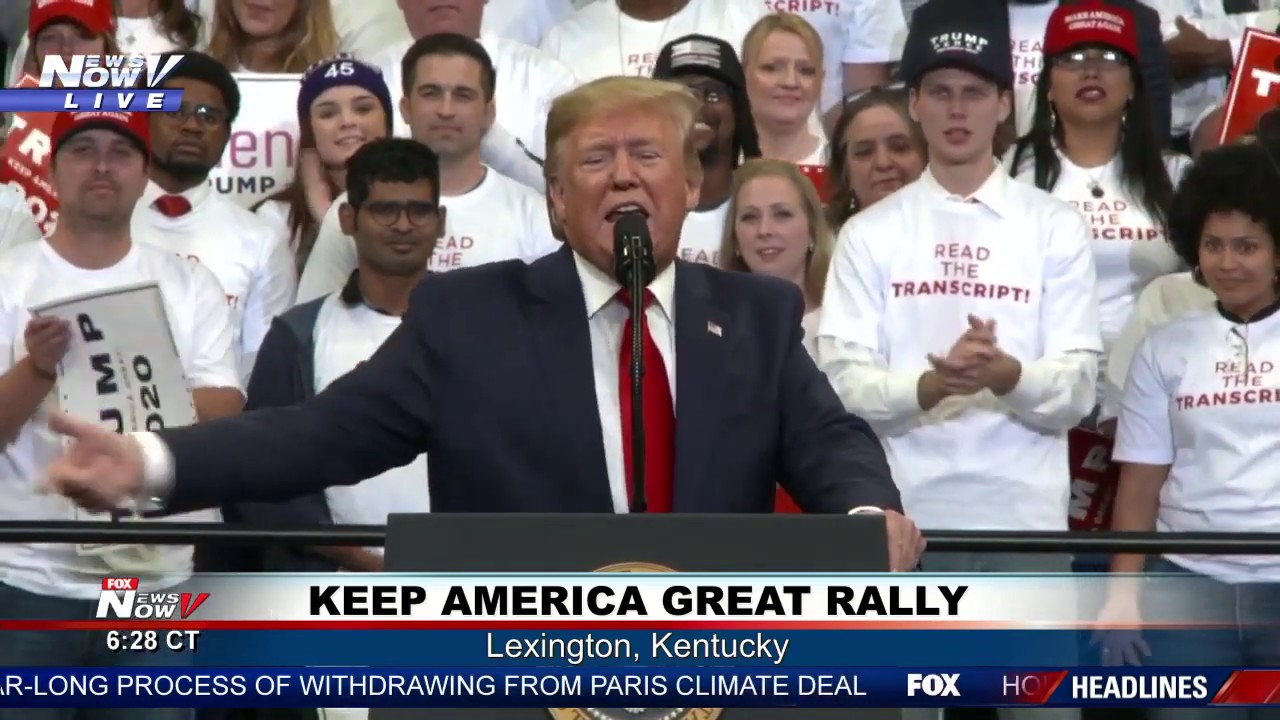 FULL RALLY: President Trump in Lexington, Kentucky
