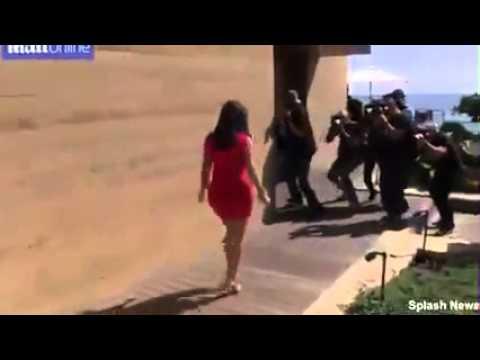 Kim Kardashian rocks a body hugging mini dress thumbnail