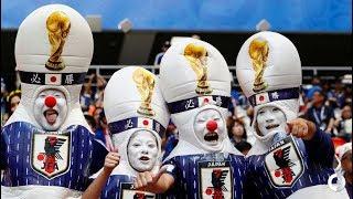 Японские болельщики удивили всех на ЧМ 2018 в Саранске