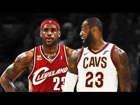 LeBron James vs LeBron James - 2018 LeBron James Meets Rookie LeBron James