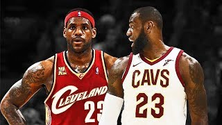 LeBron James vs LeBron James - 2018 LeBron James Meets Rookie LeBron James
