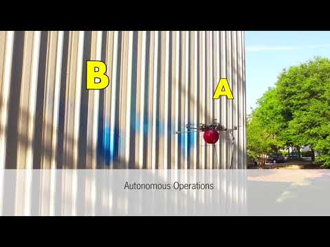Proof of Concept Fully Autonomous Spray Painting Drone  – short Version