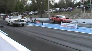 Agitator Mopar Battles With The 427 Powered Fairlane At Central Illinois Dragway!!
