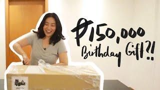 BIRTHDAY GIFT UNBOXING (SHOOKT!) 🎁 | Raiza Contawi