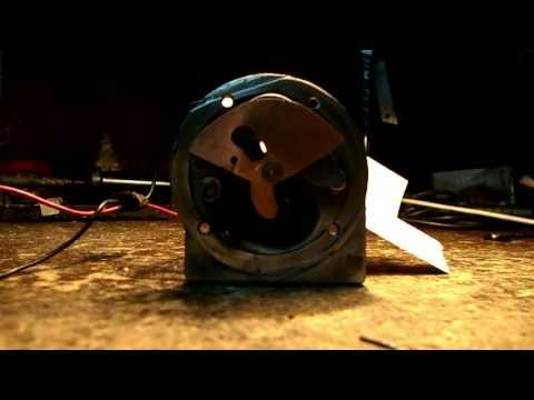 Клапан дополнительной подачи воздуха полный цикл работы изнутри