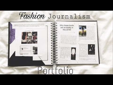 Example of a Fashion Journalism Portfolio