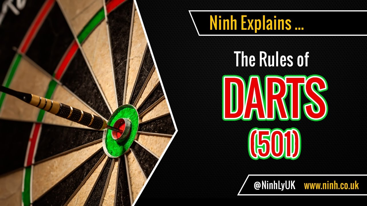 the rules of darts 501 explained youtube