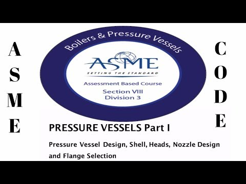 ASME VIII Mechanical Equipment Design.