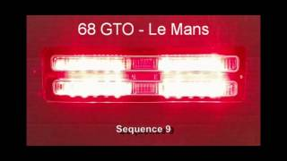 1968 GTO – Le Mans LED Sequential Tail Lights by Easy Performance Products