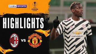 AC米蘭 0:1 曼聯   Europa League 20/21 Match Highlights HK