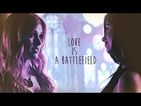 clary + isabelle || love is a battlefield