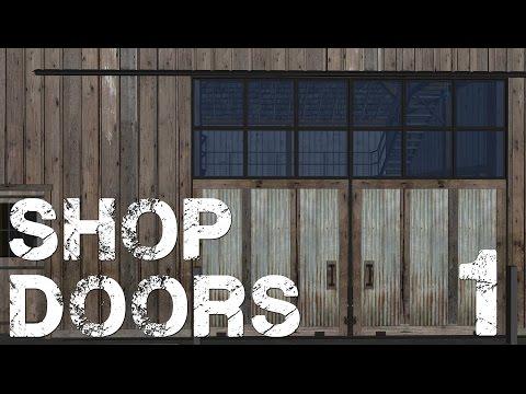 Shop Doors Pt. 1 - Framing The Project