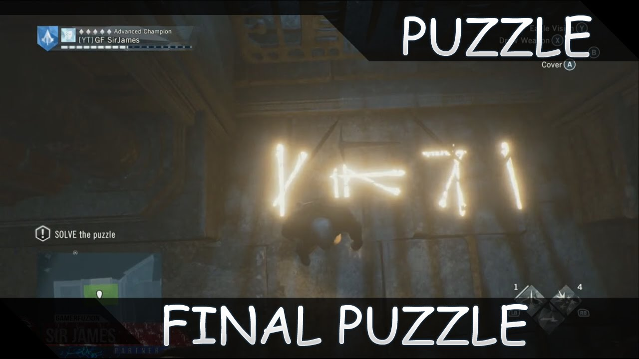 Gameplay Walkthrough Assassins Creed Unity Dead Kings Dlc Final Puzzle - Youtube