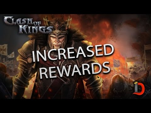 AMAZING INCREASE IN EVENT REWARDS - Clash Of Kings