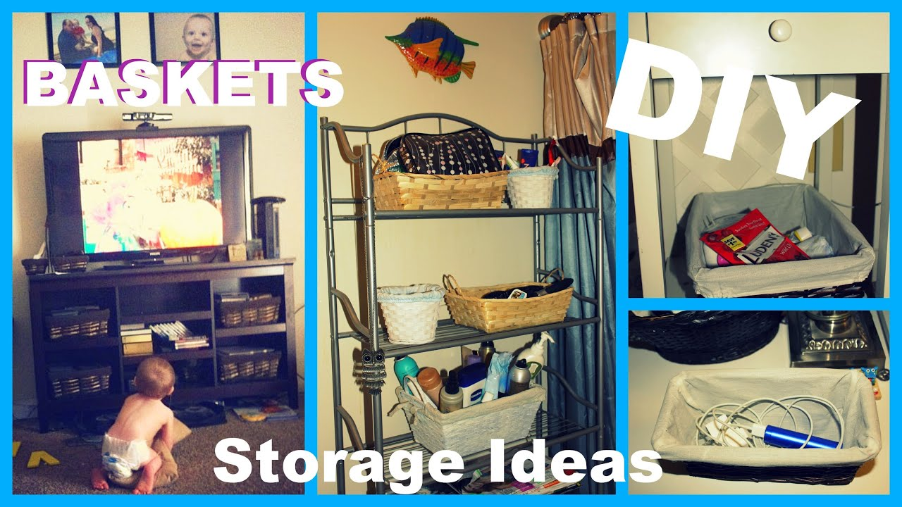 Easy Cheap DIY Basket Ideas   Storage   Decor   YouTube