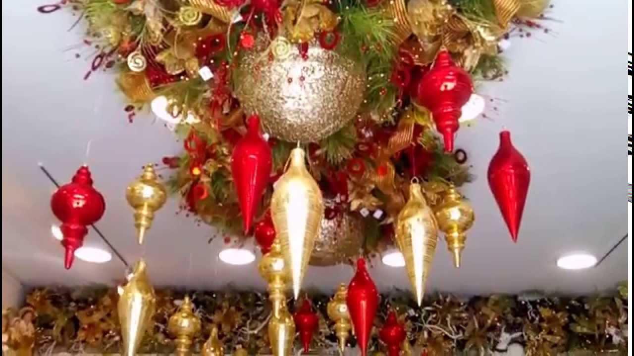 Decoracion navide a hoteles centros comerciales y negocios - Decoracion navidena para negocios ...