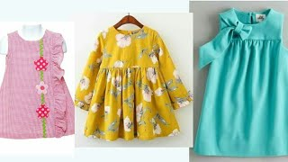 Latest Baby/ Kids frocks Designs 2018, kids collection 2018, kids casual wear 2018