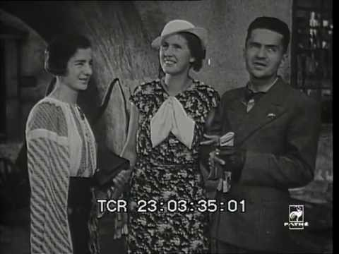 Esperantists in Stockholm, 1934 - rare newsreel fragment