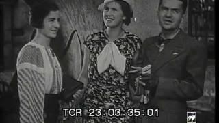 Esperantists in Stockholm, 1934 - rare newsreel fragment