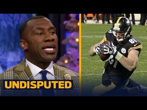 Skip and Shannon react to Jesse James having his TD overturned vs the Patriots | UNDISPUTED