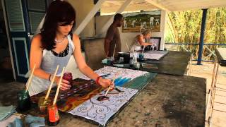 Batik Workshop conducted by Henderson Reece