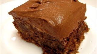 Betty's Mississippi Mud Cake  --  Chocolate!