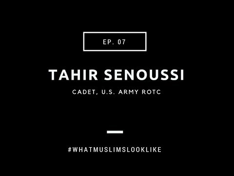 ROTC cadet tahir senoussi discusses immigrating , the military and racism among Muslims | EP 7