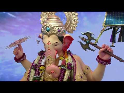 live:-lalbaugcha-raja- -afternoon-aarti-(day:-5)- -लालबागचा-राजा-आरती