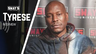 Gambar cover Tyrese on New Action Thriller 'Black and Blue' with Naomie Harris | SWAY'S UNIVERSE