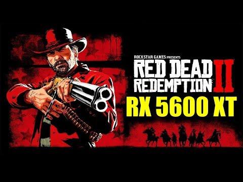 Red Dead Redemption 2 RX 5600 XT & R5 3600 - 1080p & 1440p - FRAME-RATE TEST - ???