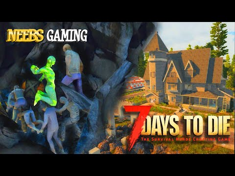 Zombies Under Our House! - 7 Days To Die