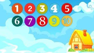 Мультик для детей - Учимся считать от 1 до 10 с песенкой Domik TV
