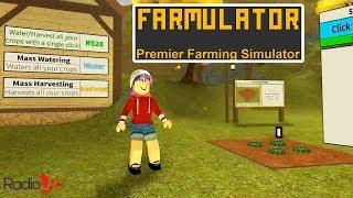 FARMULATOR! Simulador de la Agricultura en Roblox Juegos de RadioJH