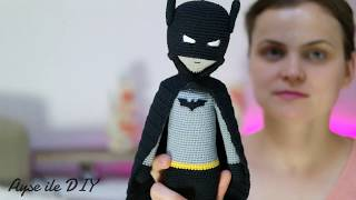 Amigurumi Batman Bölüm 5 - Kulak Yapılışı, Birleştirme ve İşleme
