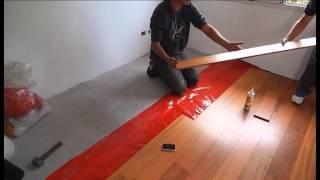 MANTO RASEL Nuevo sistema de colocación para pisos de madera
