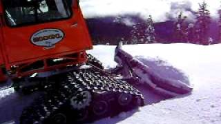 Tucker Sno-Cat - Mt. Ashland Blade Cut (2)