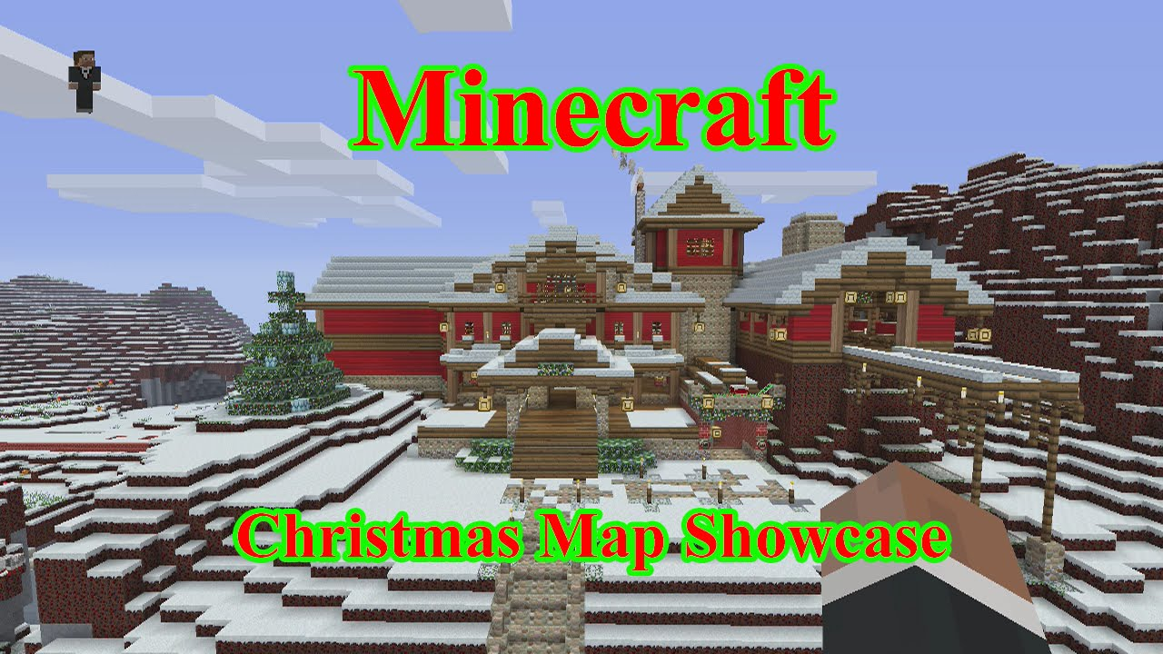 Christmas Minecraft World.Minecraft Xbox One Christmas World Showcase