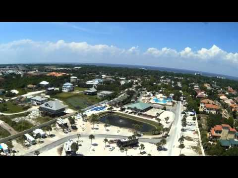 Drone surveys Camp Gulf in Destin Florida