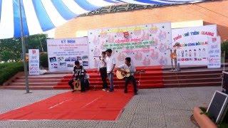 Lk Họa Tâm, Nối Vòng Tay Lớn - Sáo Trúc Nguyễn Hoàng, Cajon Xuân Khánh, Guitra Phúc Khánh