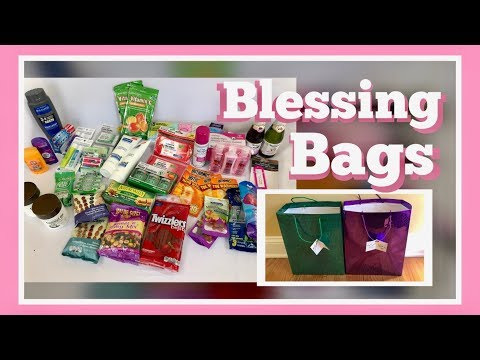 How To Make Gift Bags For Homeless | Christmas Blessings