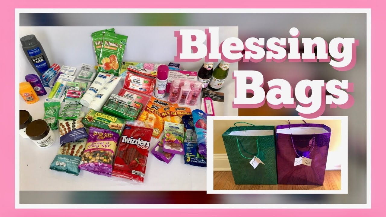 How To Make Gift Bags For Homeless Christmas Blessings
