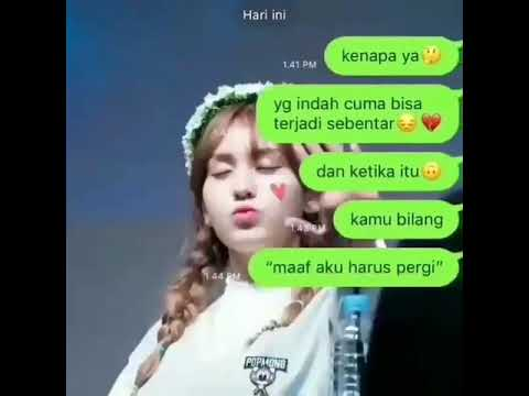 CCP FAKE CHAT BAPER 💔